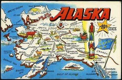 alaska+postcard