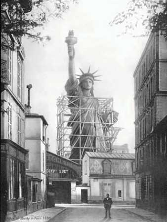 Statue of Liberty in Paris 1886