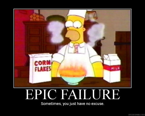 homer epic fail