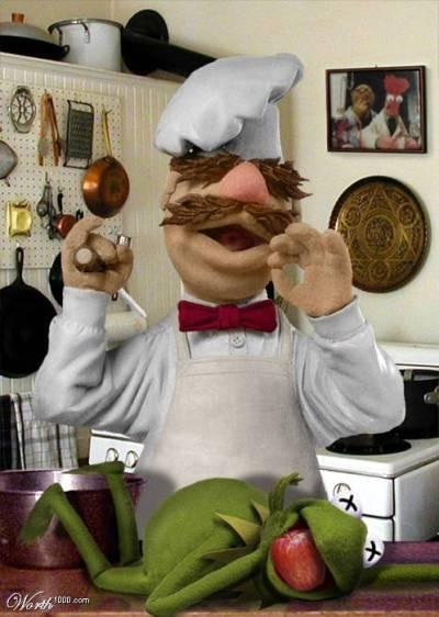 swedish chef kermit