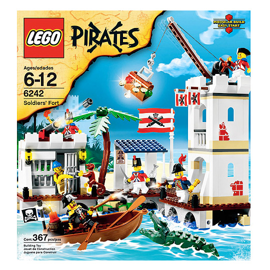 Toy Pirate Lego : Plunder and booty at three dollars a share around the sphere