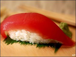 Bluefin tuna sushi - photo#23