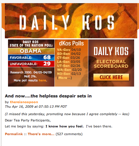 """As La Bamba sings: """"In The Research Two-Thousand, In The ... Daily Kos"""